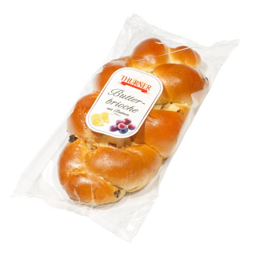 Thurner Butterbrioche mit Rosinen